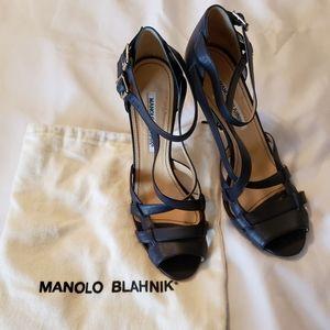 Manolo Blahnik Shoes - Manolo BLAHNIK heels size 39.5